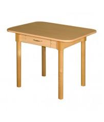 Стол кухонный с ящиком ДН 3