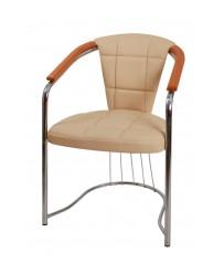 Стул-кресло Соната-Комфорт хром матовый